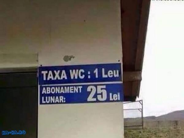Abonament wc